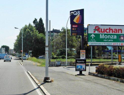 Via Milano, Seregno